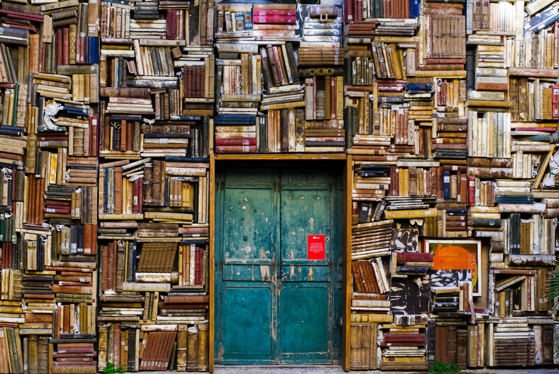 Tür zum Buch-Marketing